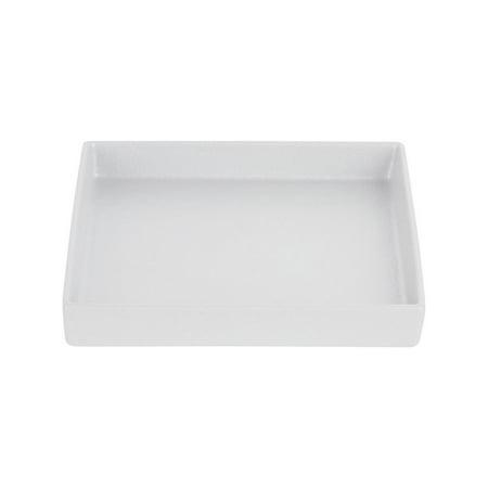 G.E.T. Bugambilia 40 oz Straight-Sided White Cast Aluminum Salad Bowl - 10