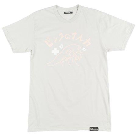 60ff721ad34 Pink Dolphin Katakana Wave Regular Fit T-Shirt Streetwear Fashion Tee Top  Grey - Walmart.com