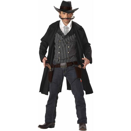 Gunslinger Halloween Costume (Western Gunslinger Men's Adult Halloween)