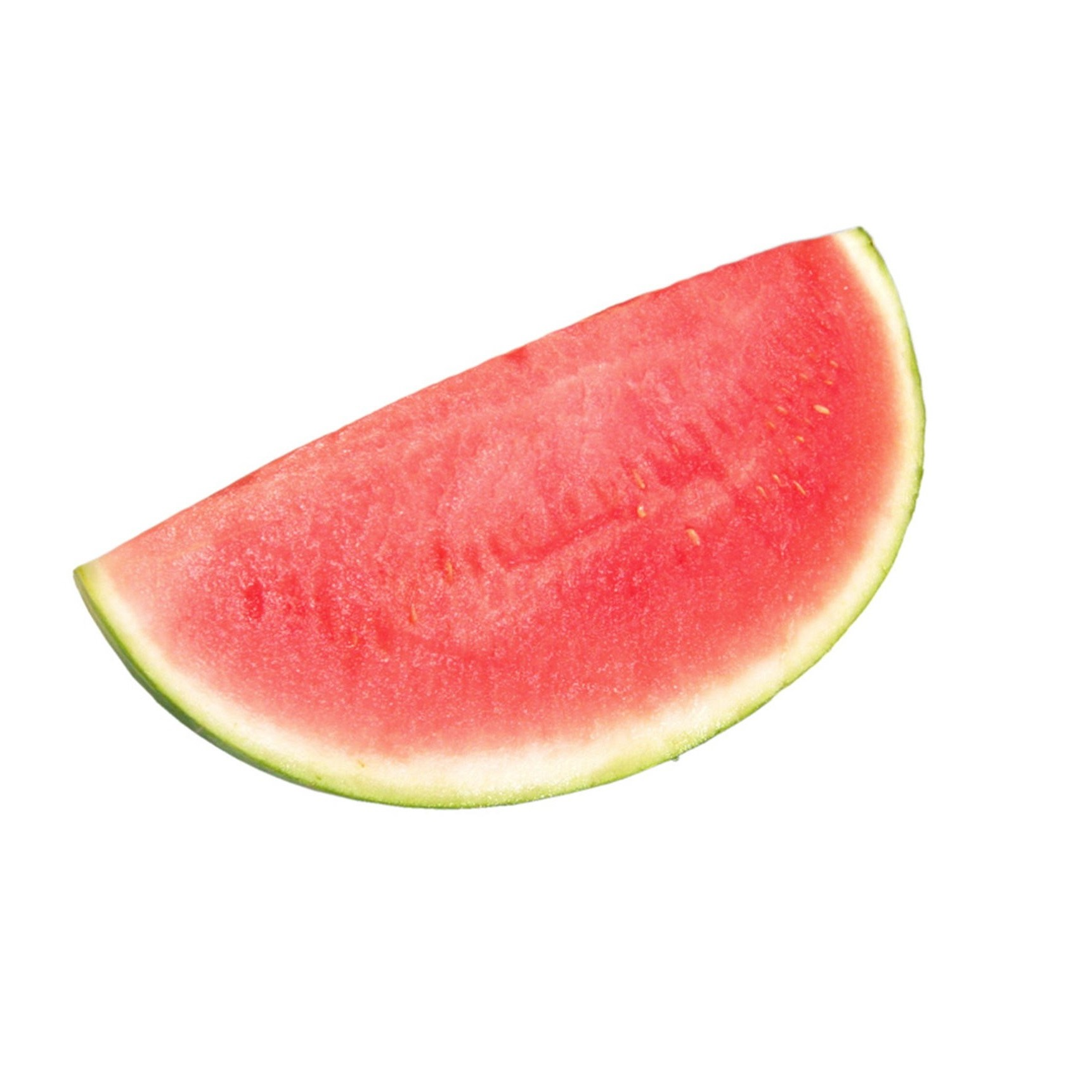 how to cut a watermelon with a quarter
