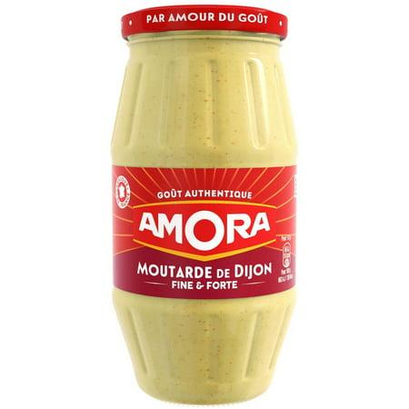 - Amora Dijon Mustard, Large Jar, 15.5 oz (Pack of 2)