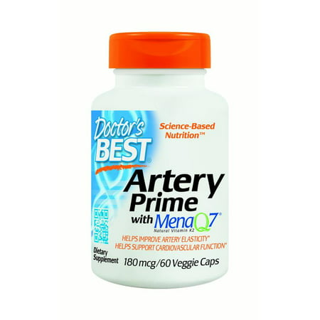 Doctor's Best Artery Prime with MenaQ7 180 mg, 60