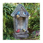 "27"" Birdhouse Fountain"