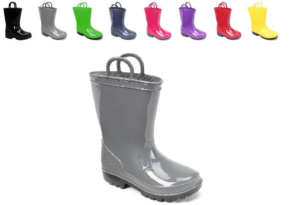KIDS RAIN BOOTS Skadoo Toddler 5 to Big Kid 6 Girls or Boys WATERPROOF