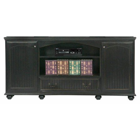 Eagle Furniture American Premiere 80 In  Entertainment Console With 2 Doors