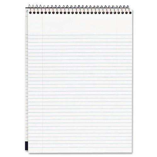 "Mead Premium Wirebound College Ruled Legal Pads - 70 Sheet - 20 Lb - College Ruled - 8.50"" X 11.75"" - 1 Each - White Paper (MEA59882)"