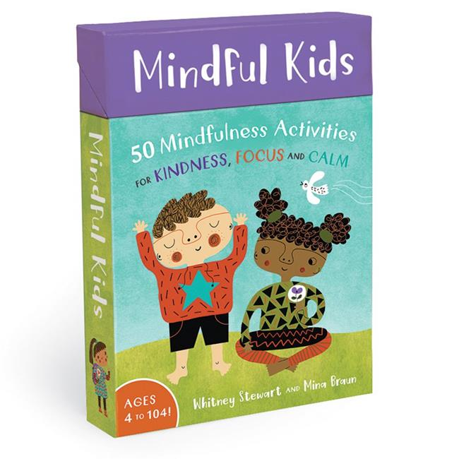 Barefoot Books BBK9781782853275BN 2 Each Mindful Kids Activity Cards - image 1 de 1