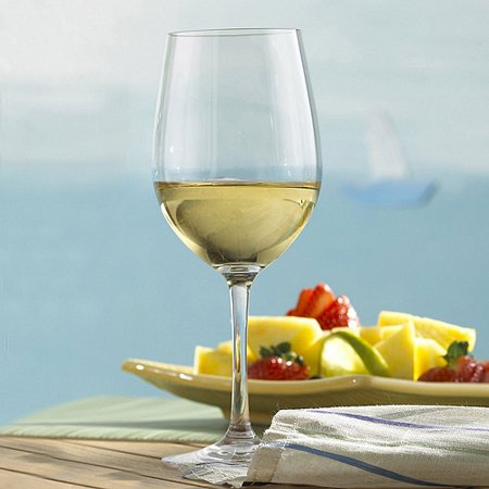 Wine Enthusiast Break-Free PolyCarb Chardonnay Wine Glasses, Set of 4