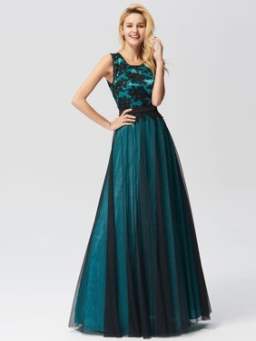 c6edb9b85655 Product Image Ever-Pretty Women's Elegant Tulle A-Line Long Evening Prom  Party Homecoming Dresses for