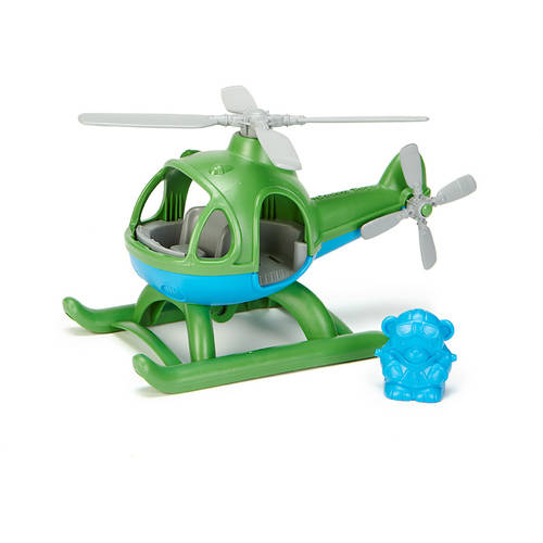 Green Toys Helicopter, Green Blue Multi-Colored by Green Toys Incorporated