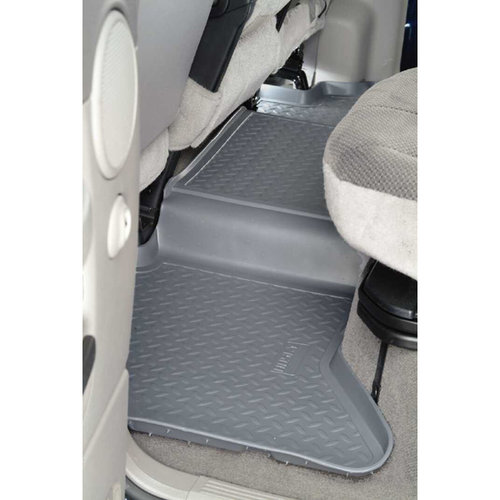 Husky Liners 2nd Seat Floor Liner Fits 05-15 Tacoma Double Cab Pickup