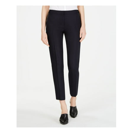 CALVIN KLEIN Womens Navy Pants Size 10P