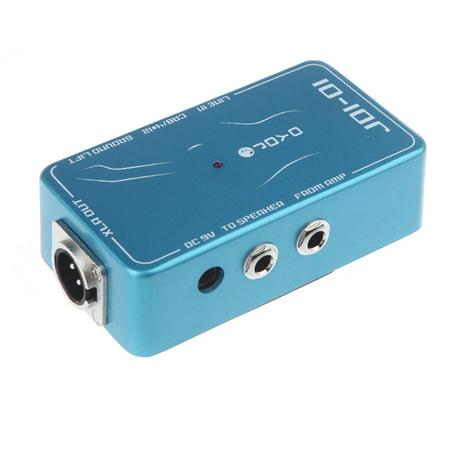 JOYO JDI-01 DI Box Passive Direct Box Amp Simulation Guitar Effect Pedal ()