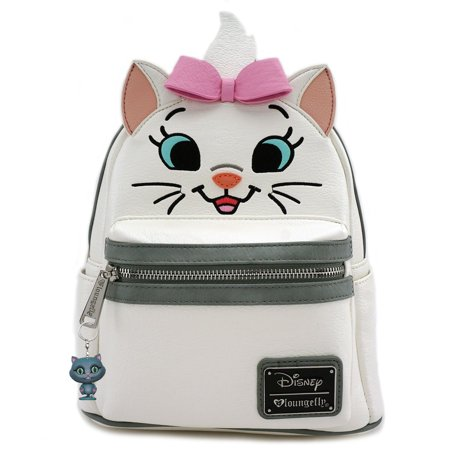 The Aristocats Marie Faux Leather Big Face Mini Backpack Disney by Loungefly BONUS: Funko Disney Mystery - Aristocats Marie