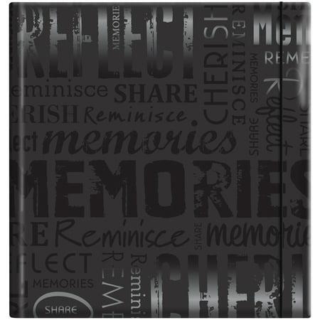9x9 Album - Embossed Gloss Expressions 200-Pocket Photo Album, 8.75