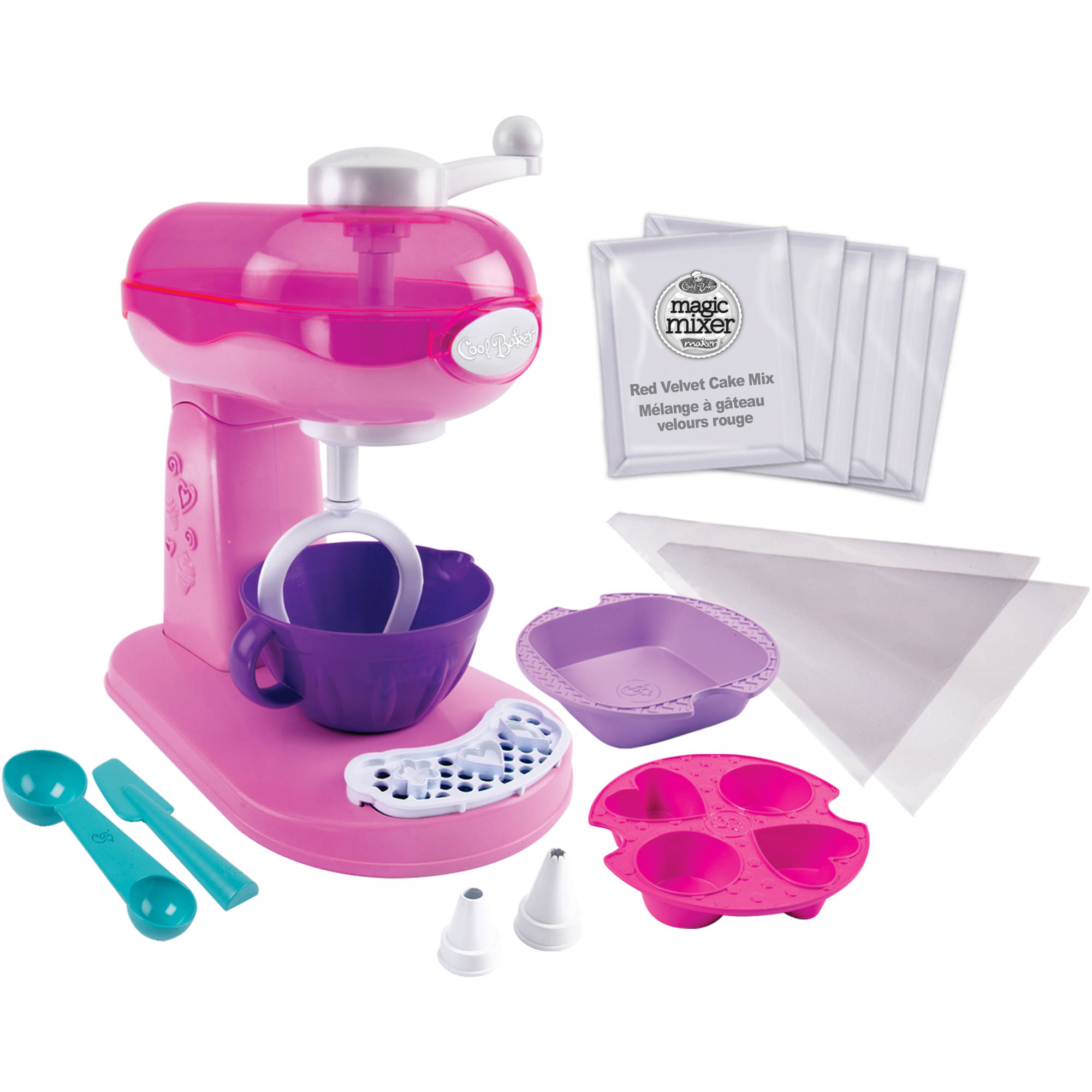 Cool Baker Magic Mixer Maker, Pink, Walmart Exclusive