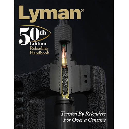 Lyman Load Data Book 50th Edition Reloading by Lyman
