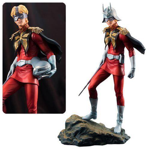Gundam Guys Generation MegaHouse Char Aznable PVC Statue Figure by MegaHouse