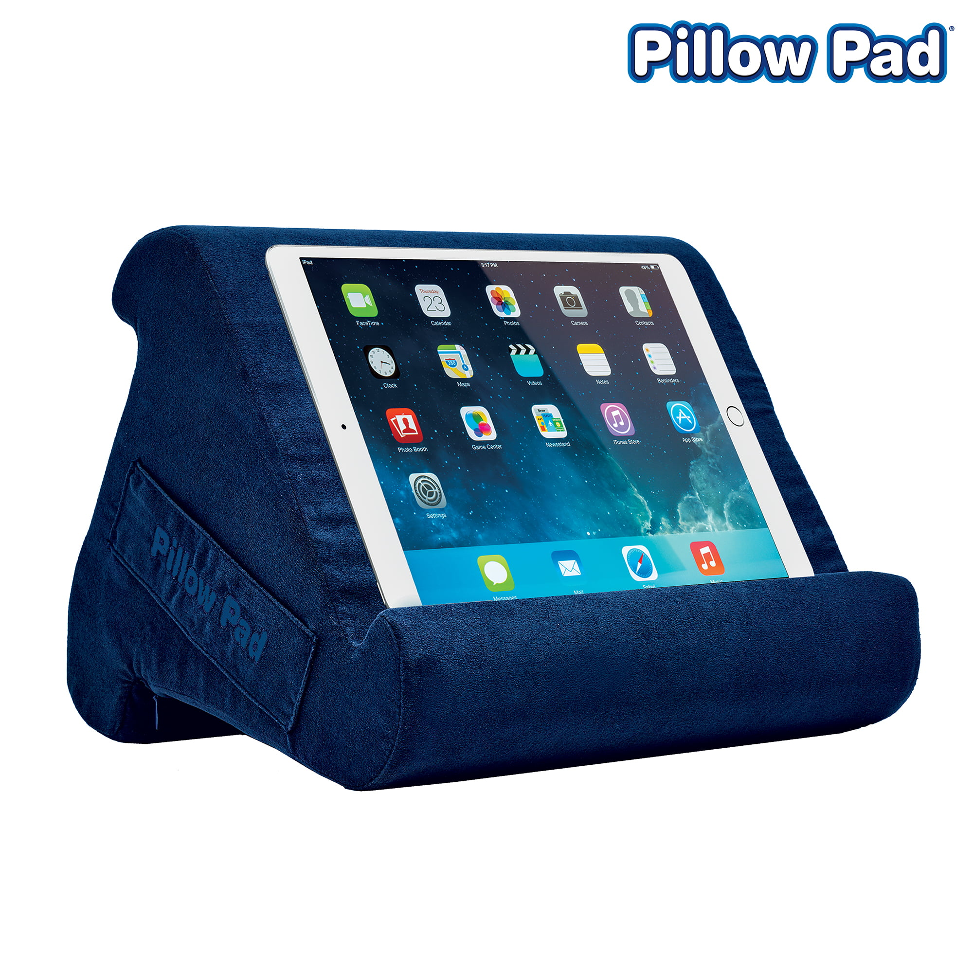 Pillow Pad Multi Angle Cushioned Tablet And Ipad Stand Burgundy