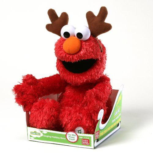 """Gund Fun Sesame Street Seasonal from Gund Sing Along Holiday Elmo 14"""" Plush"" by"