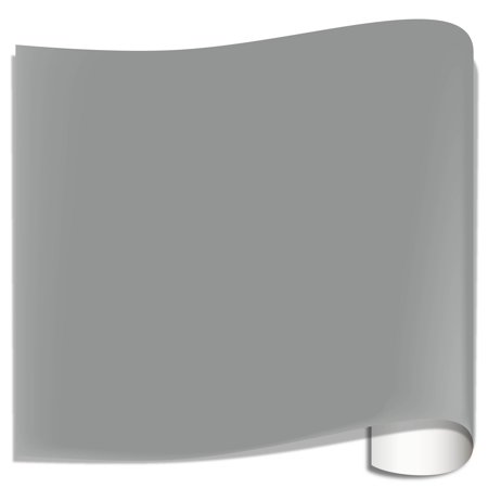 Basic Grey 12x12 Inch Paper - Oracal 631 Matte Vinyl Sheets - Middle Grey