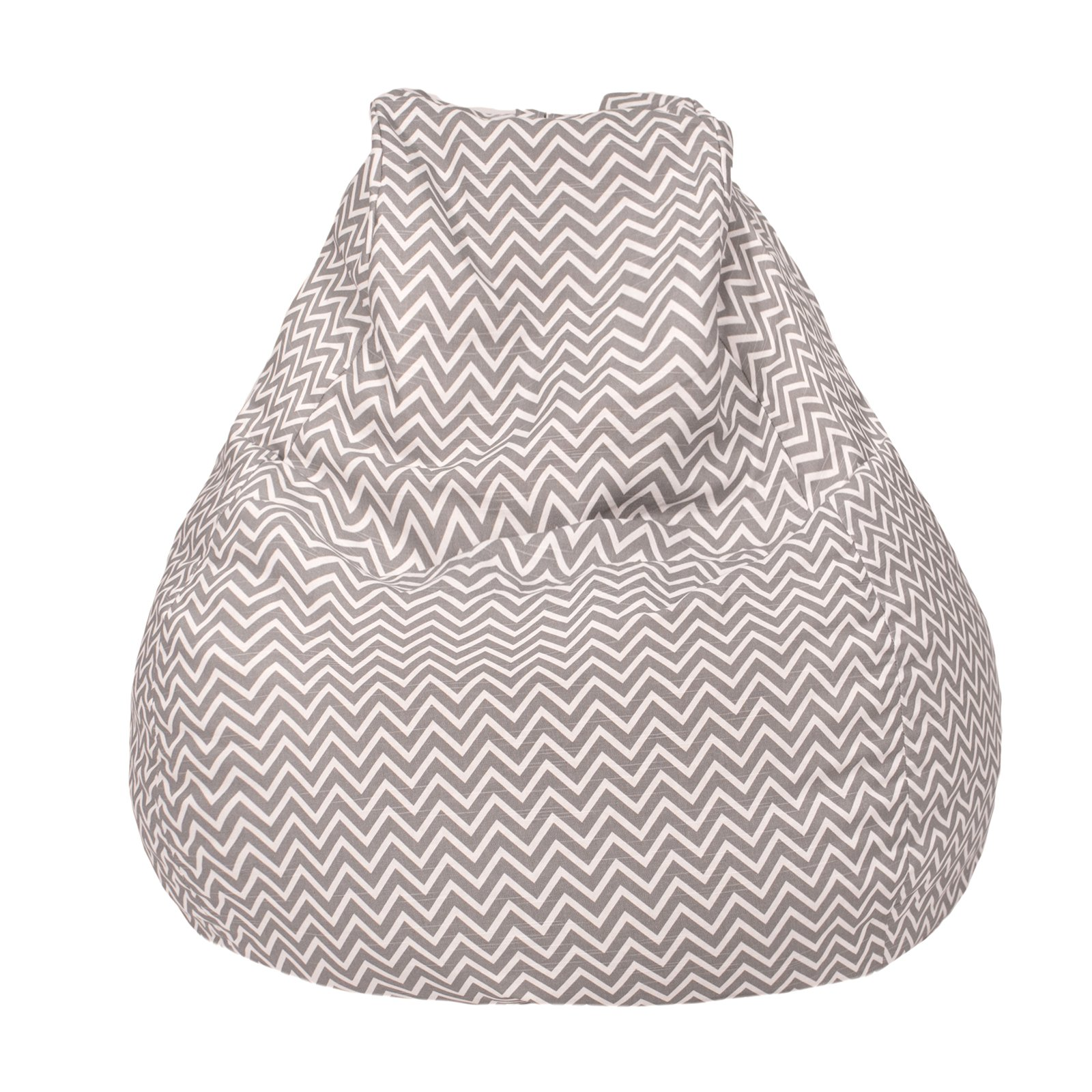 Gold Medal Cosmo ZigZag Large Teardrop Bean Bag