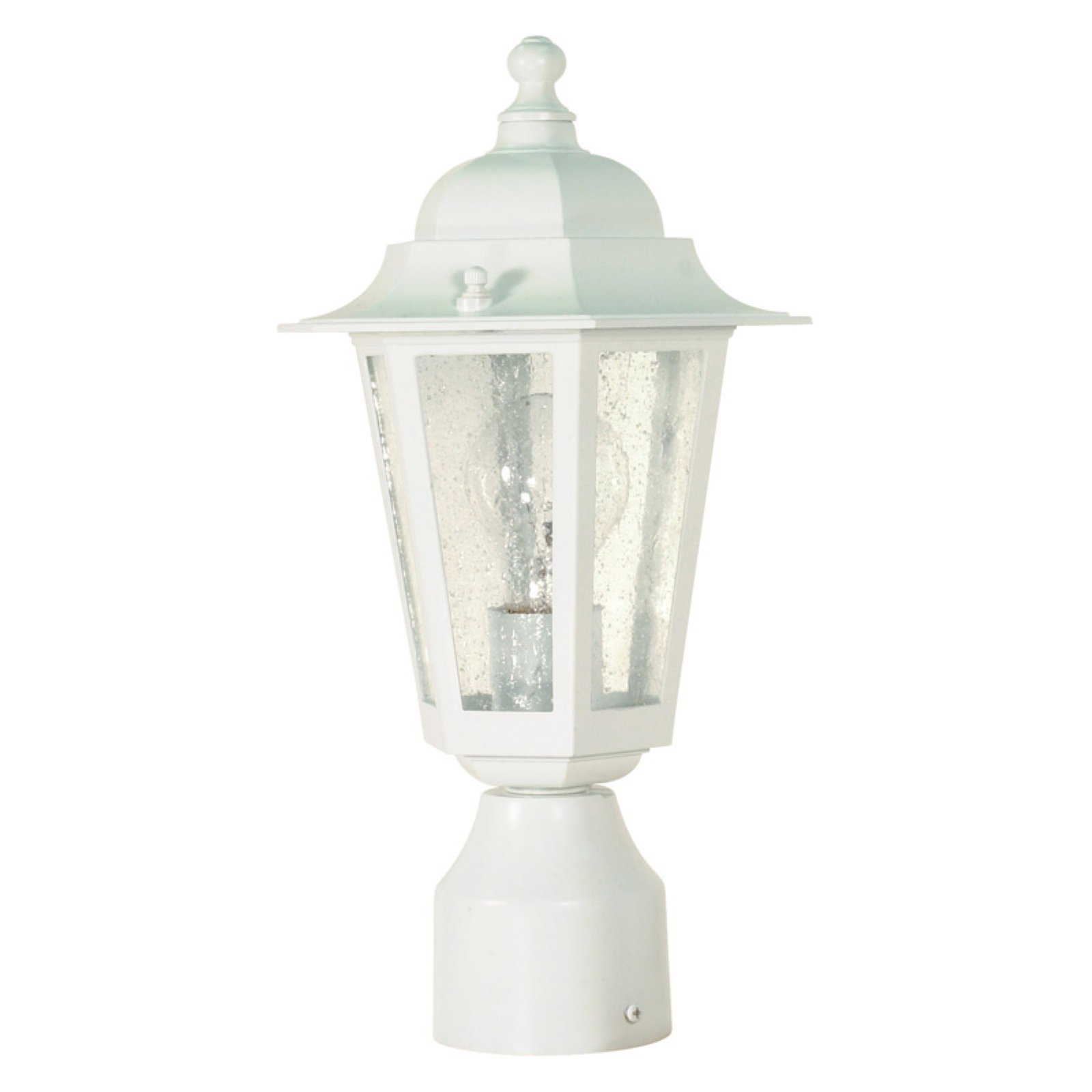 Nuvo Cornerstone 14 in. Post Lantern by Supplier Generic
