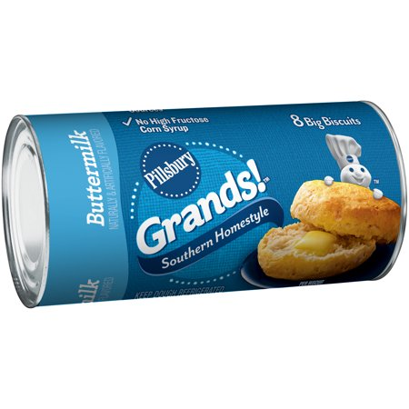 Store-bought biscuits -- yes, the refrigerated kind that pop out of a can. We blind taste-tested six major brands of biscuits (plus one brand from the Northeast that was just too good to pass up) on a mission to find the flakiest, butteriest biscuit out there.