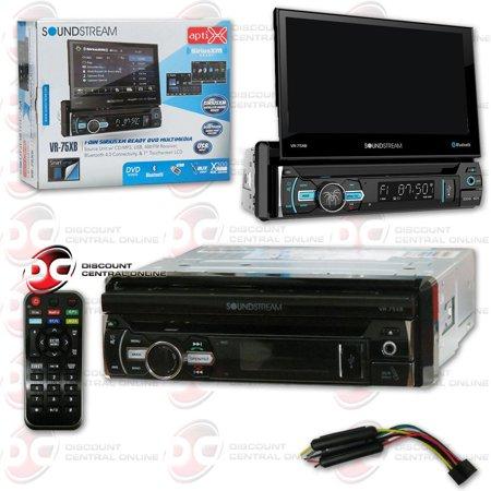 "Soundstream VR-75XB 7"" Media Receiver with DVD/CD/MP3/AM/FM/Bluetooth Capability"