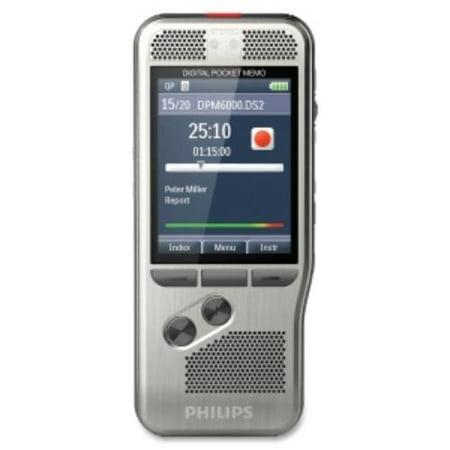 Philips Speech Digital Pocket Memo 6000 4 Gb Flash Memorylcd Portable (dpm600000) by