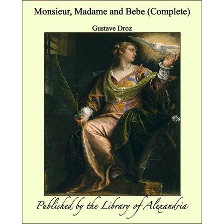 Monsieur, Madame and Bebe (Complete) - eBook - Monsieur Et Madame Halloween