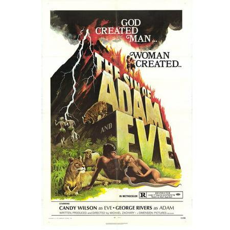 Sin of Adam and Eve POSTER Movie Mini Promo