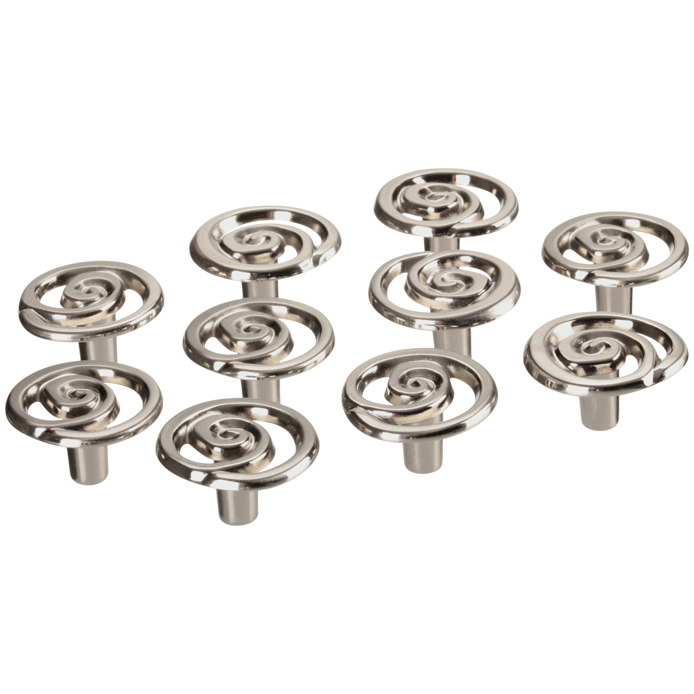 Chapter™ Satin Nickel Finish Knobs 10 ct Pack