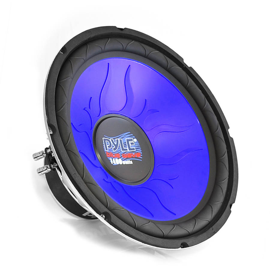 Pyle Blue Wave 1200W High-Powered Subwoofer