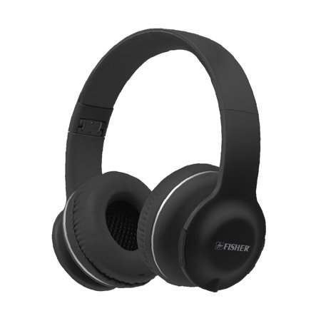 Fisher Lounge Noise Isolating Headphones, Wired or Wireless, Built-In Mic -