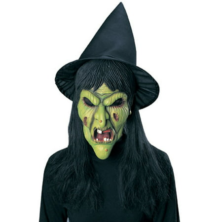 Witch Mask with Hat and Hair Rubies 3194, One Size - Halloween 3 Season Of The Witch Masks