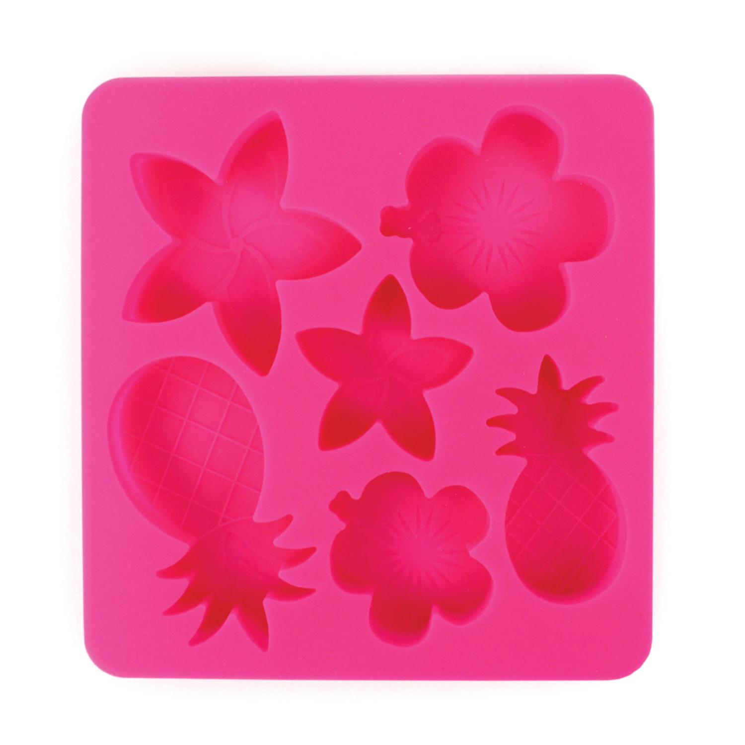 Tropic Chillers Silicone Ice Cube Tray - Beach Themed Shaped Ice Cubes