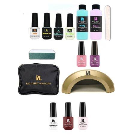 Red Carpet Manicure Cinderella LED UV Lamp Gel Nail Polish Kit & Polish Set - Gel Manicure Halloween