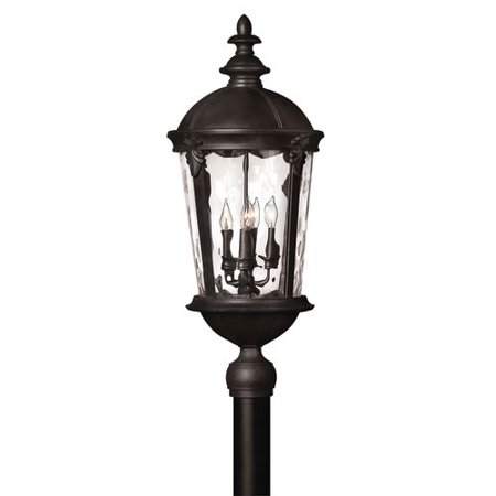 Hinkley Lighting 1891 Led 1 Light Led Post Light From The Windsor Collection