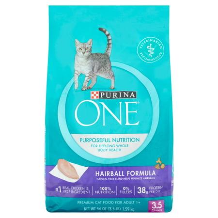 Hairball Formula Cat Food