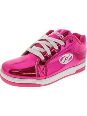 Heelys Split Silver Disco Glitter Ankle-High Fashion Sneaker - 7M