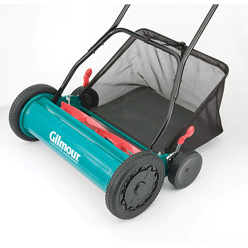 Gilmour RM30 20 in Adjustable Hand Reel Mower With Grass Catcher