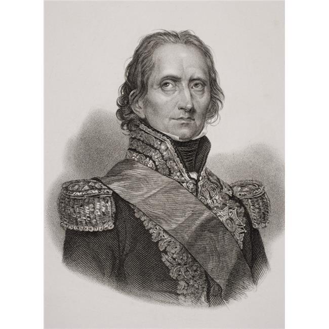 Posterazzi DPI1857250LARGE Nicolas Jean De Dieu Soult Duc De Dalmatie 1769-1851 French General Poster Print, Large - 24 x 34 - image 1 de 1