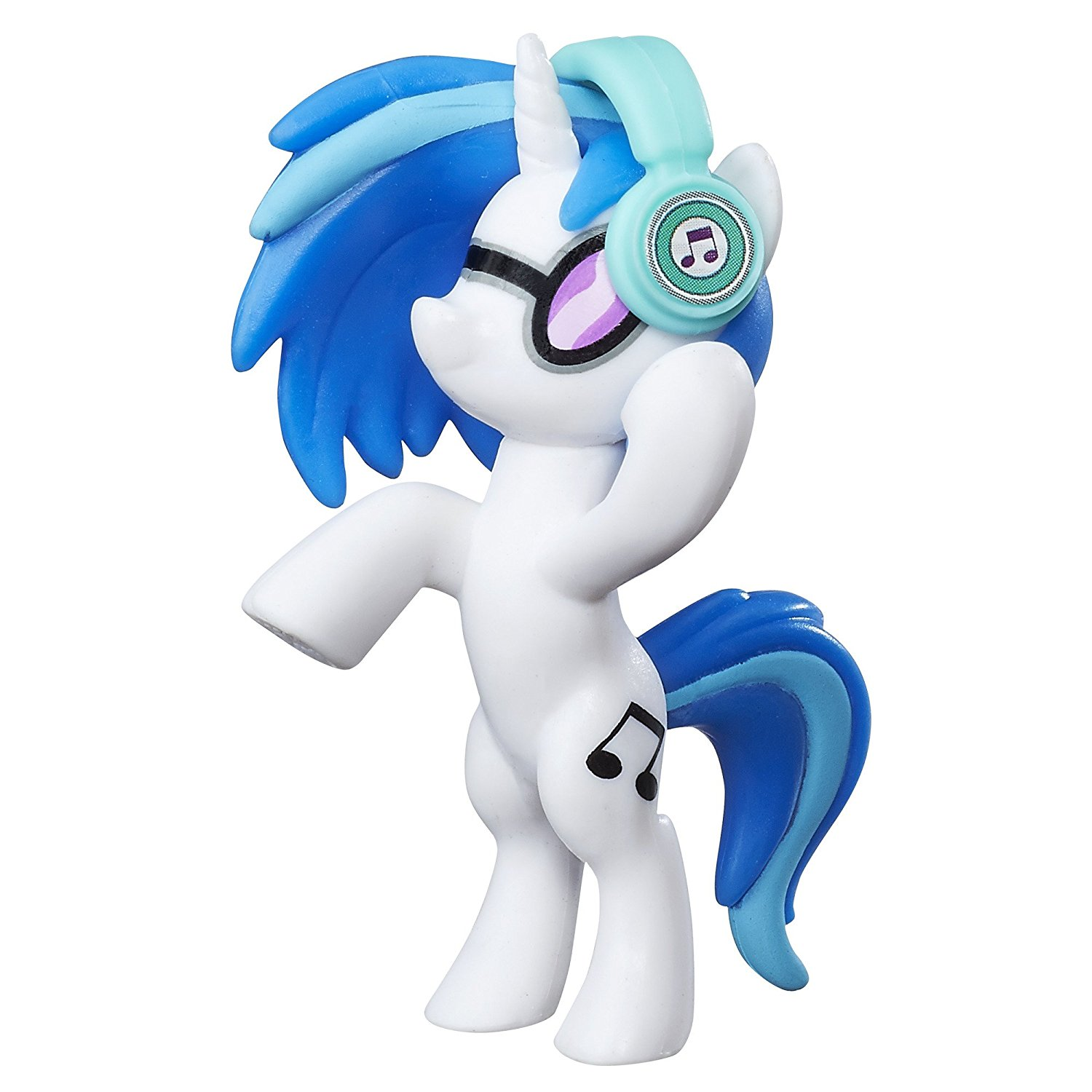 Friendship Is Magic DJ Pon 3 Doll, DJ Pon-3 includes headphones accessory By My Little Pony