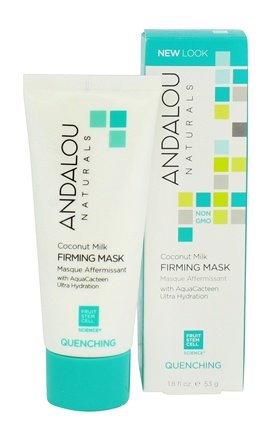 Coconut Milk Firming Facial Mask - 1.8 fl. oz. by Andalou Naturals (pack of 1) (6 Pack) RUDE Renew My Lips Lip Exfoliator