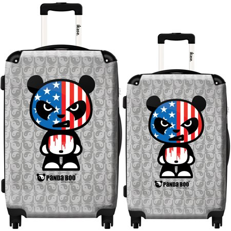 8c5f6d981d58 iKase Suitcase Panda Boo US - Set 20