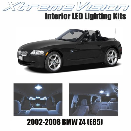 Xtremevision Led For Bmw Z4  E85  2002 2008  5 Pieces  Cool White Premium Interior Led Kit Package   Installation Tool