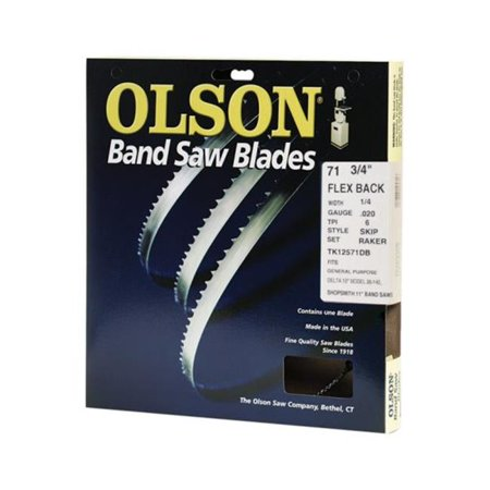 Long Blade (Olson Flex Backband Saw Blade Hard Edge 71-3/4