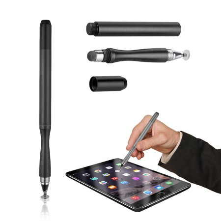Stylus Pen, Super Capacitive Stylus Fine Point Styluses with Extra Thin Point Disc Tips Universal for Tablet/iPad Mini/Smartphones All Touch Screen Devices ()