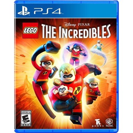 LEGO The Incredibles, Warner Bros, PlayStation 4,